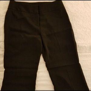 Ann Taylor LOFT Black Pants Size 10